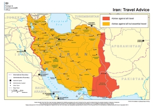 The British Home Office Map to Iran