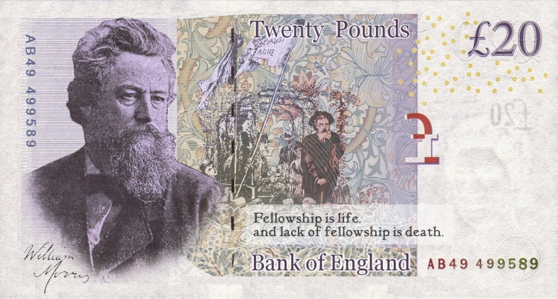 William Morris £20 Note