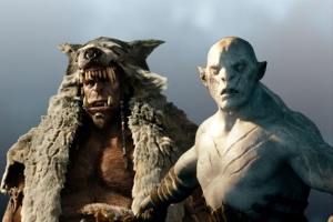 Durotan from Warcraft and Azog from Peter Jackson's version of Tolkien's The Hobbit